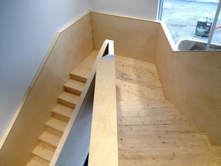 Construction – Ajout d'un escalier