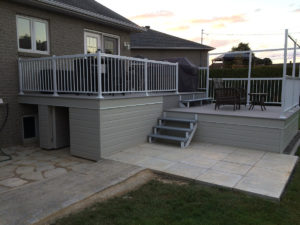 Rénovation résidentielle - ajout d'une terrasse