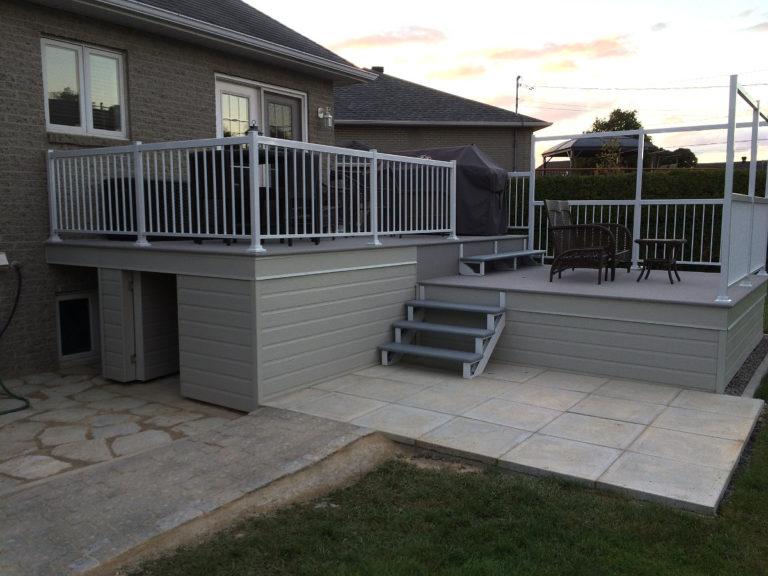 Rénovation résidentielle – ajout d'une terrasse